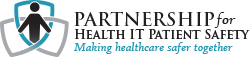 Partnership for Health IT Patient Safety Logo